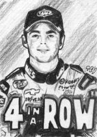 4 in a Row - Jimmie Johnson by tdastick