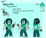 Silver Sun Judge: Turquoise by webchow