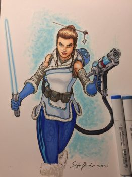 Rey/Mei Mash-up by amonkeyonacid