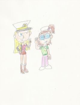Gift: Admiral Lindsay and Sailor Beth by mastergamer20