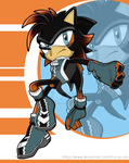 Phoenix The Hedgehog by it-s-no-use