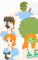 Nami Becoming the Mask Colored by Firingwall