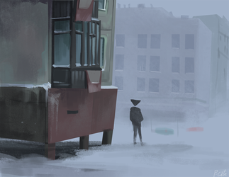 Alone by P-cate