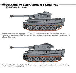 Tiger 1 early models by tacrn1