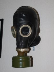 Gas Mask Stock 03 by PsykoHilly