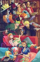 Straw Hat Library by ravefirell