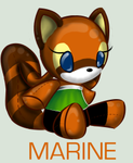 SonicPlushieCollection: Marine by Omnicenos