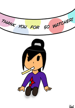 Thank you!! by Janidraw