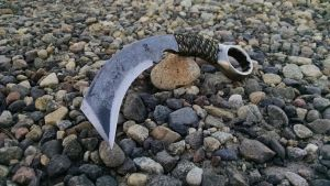 One inch Wrench Knife Karambit by RavenStagDesign