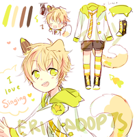 [AUCTION] LineHeart #23: closed [Shota Idol] by ErinAdopts