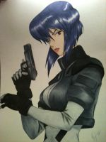 ~Major~ Ghost In The Shell by Violet-eye-sorceress