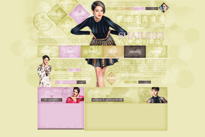 Layout ft. Shailene Woodley by Andie-Mikaelson