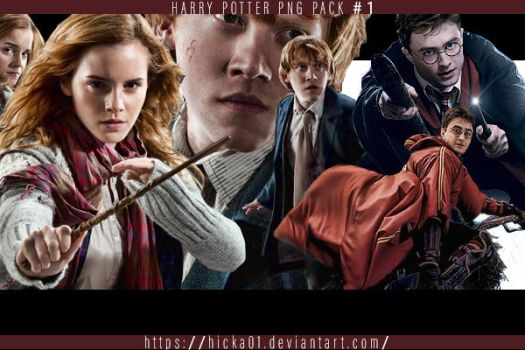 Harry Potter PNG Pack 1 by Hicka01