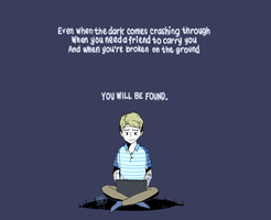 Dear Evan Hansen by ainahsmae
