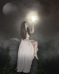 Pale moonlight by MariamShades