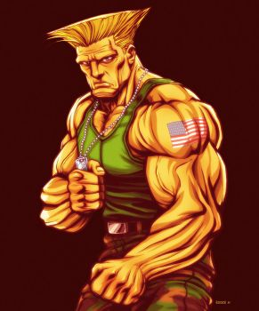 Guile - Street Fighter by EddieHolly
