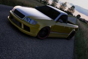 Audi S6 pickup view 2 by Storm909