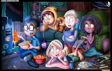 PARANOIDS_MOVIE NIGHT by XAMOEL