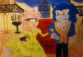 Beauty And the Beast sonic version by Spikinette