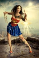 Wonderwoman by CindysArt