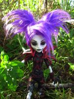 Undead Rogue Harlequin - Monster High Custom 2 by mrinx