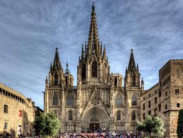 Barcelona Cathedral by MisterKrababbel