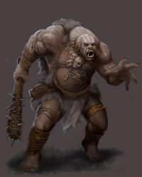 DC: Banevik the Ogre by GraphicGeek