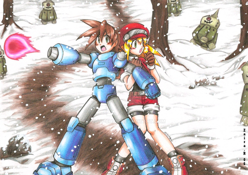 Megaman Legends 2 by Rolly-Chan