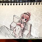 30 Day Sketchbook #29 Favorite Weather by Auto-nin13