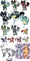 BIG OLD ADOPTABLE SALE (OFFER TO ADOPT) by Nightmare-Adventures