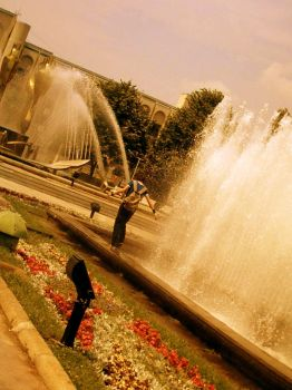 Fountains by babygirlk by BrailaCity