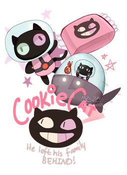 Cookie Cat by Hella-Saiko
