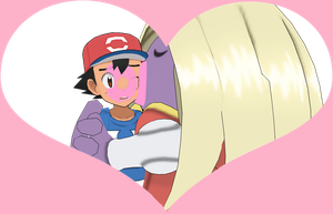 [MMD] Valentine's Card #1: Ash and Jynx