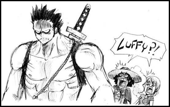 NIGHTMARE LUFFY by CoralSnake
