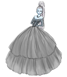 in a delightfull ball gown by rgwhalon