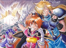 Happy Slayers by Yamatoking
