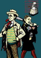 7th Doctor and Ace by AdAbsurdum