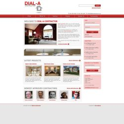 Dial-a-Contractor Website by MrFenix