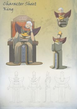 Character Sheet- The King by zaraki08