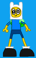 Mixels Halloween Costume: Luqman2 as Finn by Luqmandeviantart2000