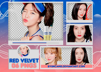 [PNG PACK #490] Red Velvet - Etude by fairyixing