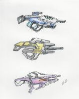 Mass Effect Weapons 2 by ninboy01
