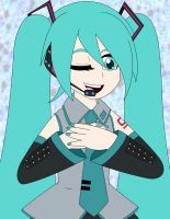 Hatsune Miku by HTFWhiskersthecat