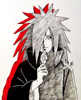 Madara Uchiha by artxnoa