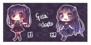 [ADOPTS-CLOSED] Gothic #1 by ShiroAeon