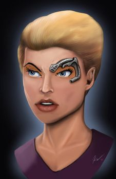 Seven of Nine by KevinG-art