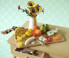 Fruit Preparation Board by PetitPlat