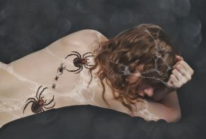 A is for ARACHNOPHOBIA by Catandhearts
