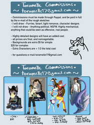 Commission 2018 [OPEN] by Toramelle