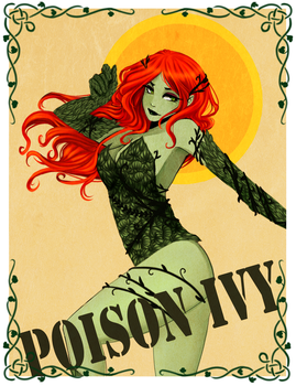 Poison Ivy by water-panda-chan